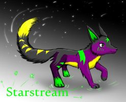 Starstream Gift art for Poisondragon88 by SuperferretIX