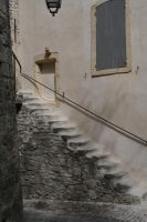 stairs in provence by ingeline-art