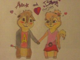 Alvin and Brittany first date by EmoGirl003