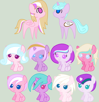 SRxFF Shipping Adopts by MaddieAdopts