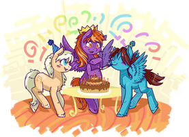 Commission - Birthday~ by Keep-Yourself-Alive