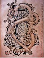Celtic tattoo design by knotty-inks