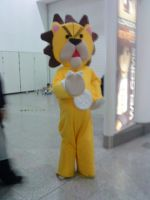 Huge Kon Plushie XD by High-on-E-numbers
