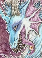 ACEO Trade: Wooden by Agaave
