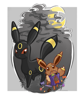 Eevee Evolutions - Umbreon by ImmortalTanuki
