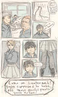 FMA Omake: Miniskirts! by roolph