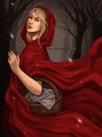 Red Riding Hood by daniellesylvan