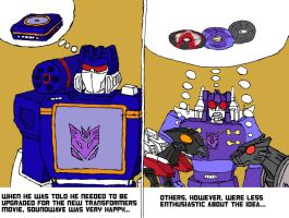 Soundwave's new body by BB-Shockwave