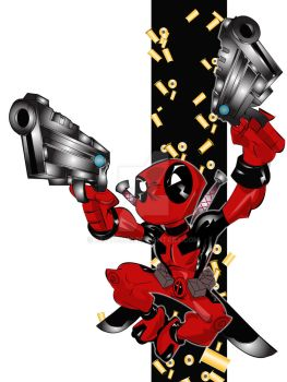 Deadpool by kevtoons