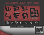 Ms. Office 2oo8 Token Icons by vi20RickrMetal12us