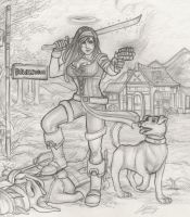 Fable 2 Heroine by Holly-the-Laing