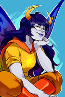 :: Vriska Serket - Thief of Light by shadow-freak