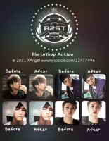 B2ST Mastermind PS Action by o0oxangelo0o