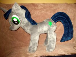 OC Pony Plush Commission by Aurorous