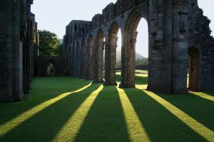 Llanthony priory shadows by nectar666