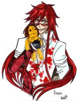 Grell loves Sebastian by BlitzkriegEXSTACY