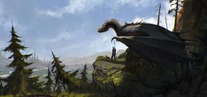 Dragon Rider by SaeedRamez