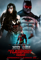 Justice League The Flashpoint Paradox movie poster by ArkhamNatic