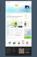 HTML5 - Cluster Effect by ait-themes