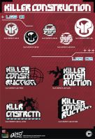 Killer Construction Logos Pack by inumocca