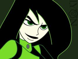 Shego Smirk-Vector by TheDocRoach