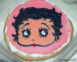 Betty Boop Cookie by zieora