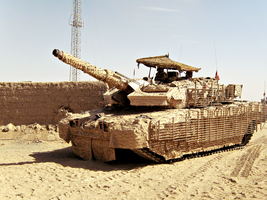 Leopard 2 - Afghanistan by dennisba