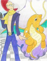 Miror B.+Shadow Dragonite-clr by DragonArtist16