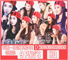 Yuri (SNSD) - PACK PNG #01 by JeffvinyTwilight