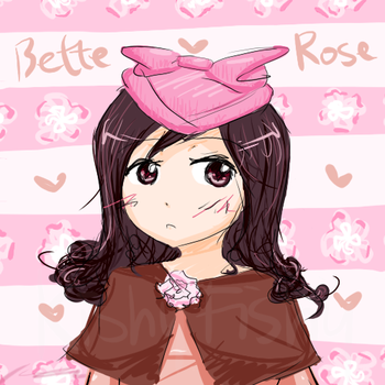 Bette Rose by KishiFishy