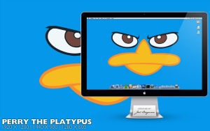 Perry the Platypus by RurouniVash