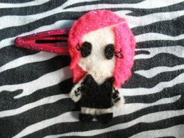 Jeffree Star Hairclip by Invader-Valo