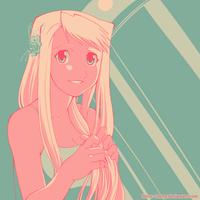 Pallette Challenge - Winry Rockbell #14 by Bitter-Cherry