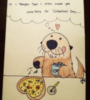 Otter valentine of sorts by Lutrasaura