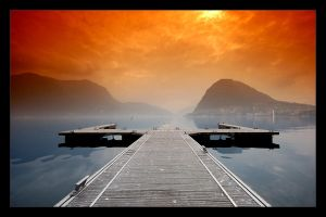 Lugano Lake by Robert75