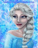 Disney's Frozen: Elsa by kimberly-castello