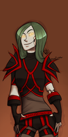 WOW_Undead Rogue by AlessaTrickster