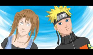 Request: Naruto and Nyamo by Gintara