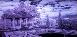 Italian Garden infrared... by MichiLauke