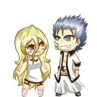 PC- Grimmjow + Nana by Kuzurae
