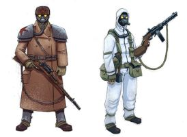 winter soldiers color by mcnostril