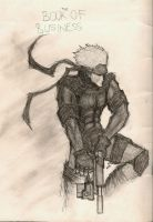 Solid Snake by DioMahesa
