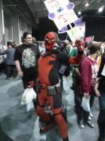 Dead pool cosplay by mikey900