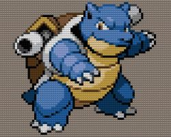Blastoise Lego by drsparc