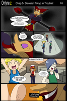 Onlyne Z Chap.5 Disaster! Tokyo in Trouble!- 09 by BiPinkBunny