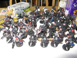 Chaos Space Marine Force by Karkit