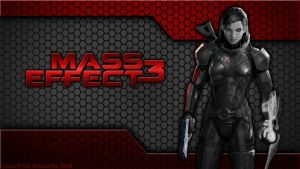 Mass Effect 3 - New Logo by lincer556