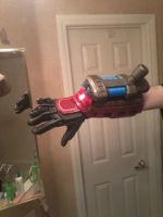 Finished Tech Priest Left arm Plasma Gauntlet by Bag-of-hammers