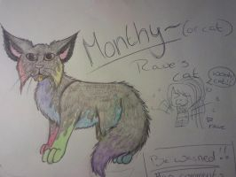 Monthy the cat by shaman-ninja