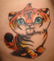 Tiger Tattoo by Electro-Girlie